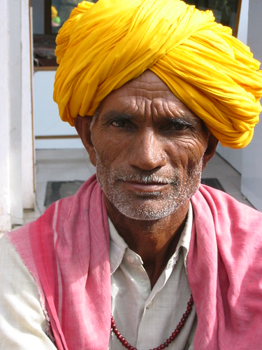 Portrait Inde Rishikesh India