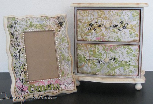 Perhaps: Frame and Drawer set