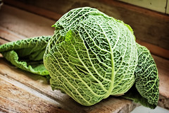 produce(0.0), gourd(0.0), savoy cabbage(1.0), cabbage(1.0), vegetable(1.0), leaf(1.0), green(1.0), food(1.0),