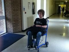 A trip to hospital