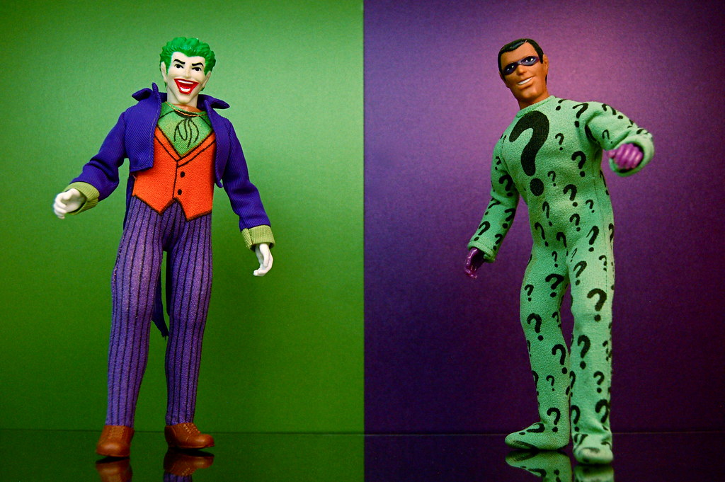 Joker vs. Riddler (309/365)