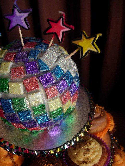 Cake Decorating Disco Ball : Disco Ball Cake Flickr - Photo Sharing!