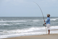 beach, fishing, sea, recreation, ocean, casting fishing, outdoor recreation, recreational fishing, wind, wind wave, surf fishing, wave, shore, coast,
