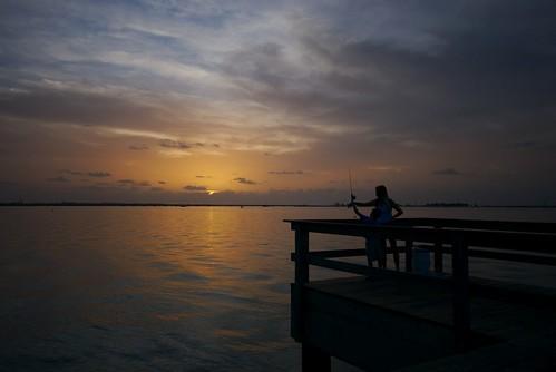 ocean sunset island pier boat fishing fisherman nikon marine florida sanibel soe supershot d80 mywinners abigfave anawesomeshot wowiekazowie diamondclassphotographer onlythebestare