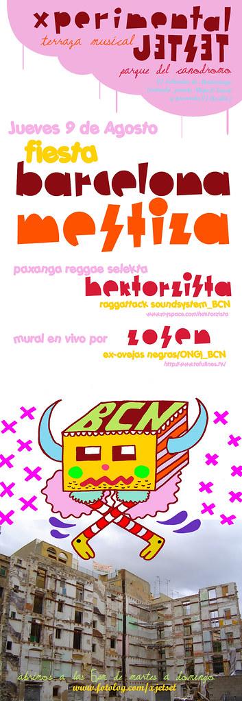 Fiesta Bcn Mestiza 2007 Fiesta Barcelona Mestiza En Zarago
