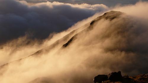 Mountain's cloud
