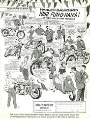 1962 Harley-Davidson