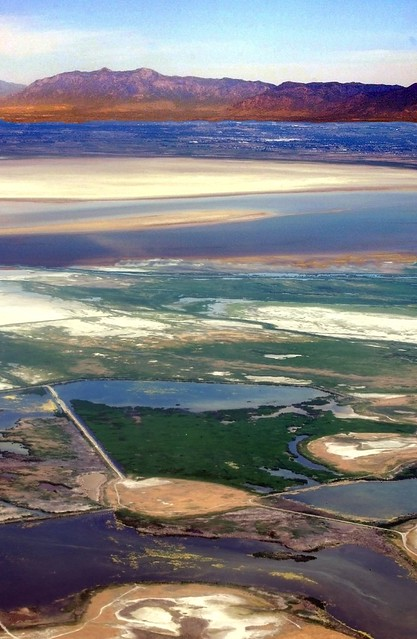 Over Salt Lake