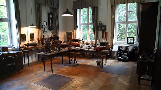 Röntgen's laboratory
