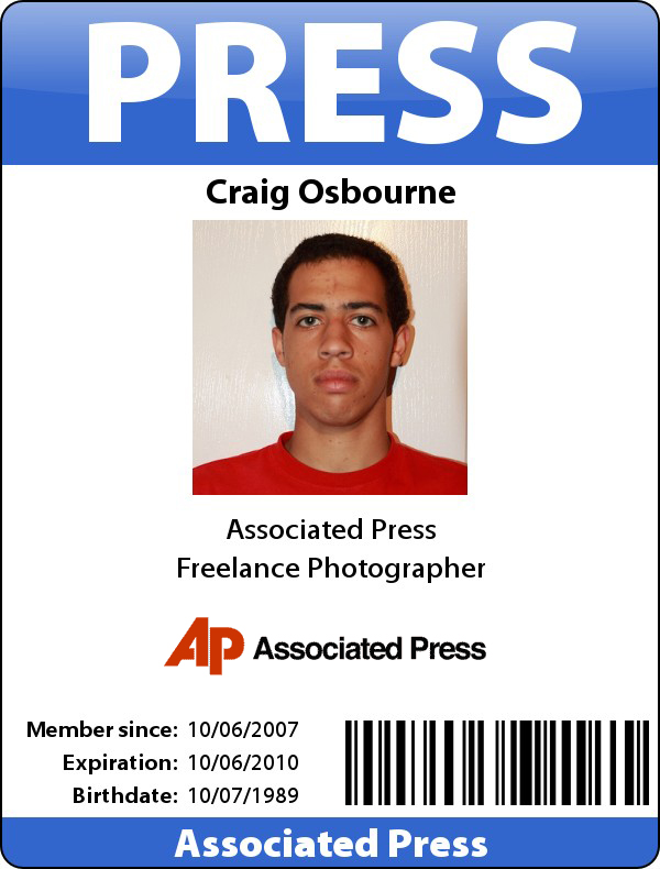 Official press pass template the image for Press pass request template