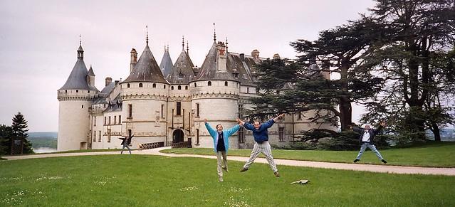 Castillo de Chaumont - Saltant :)