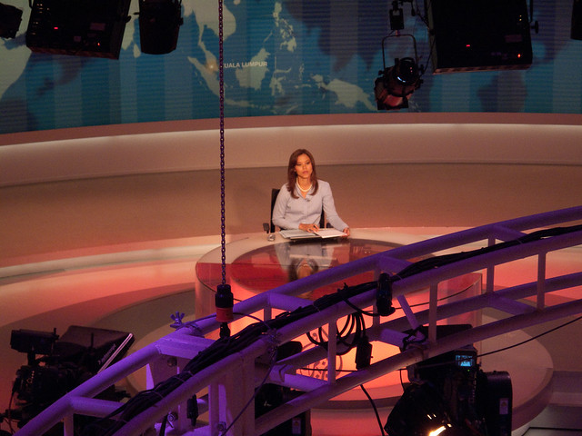 al jazeera english newsreader
