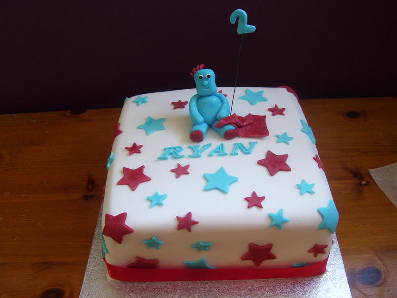 Iggle Piggle Birthday Cake For 2 Year Old Boy