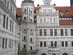 Dresden old town building
