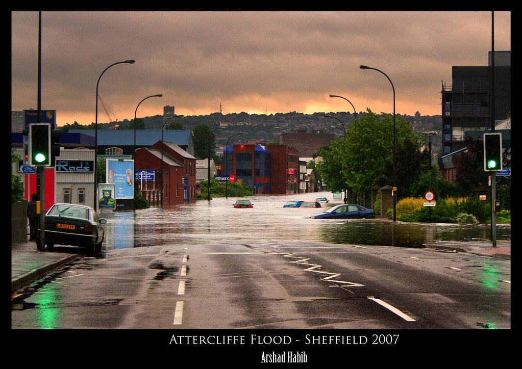 Sheffield Flood - Attercliffe