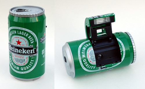 Ginfax Can Camera (Heineken)