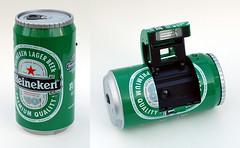 Ginfax Can Camera (Heineken) by John Kratz