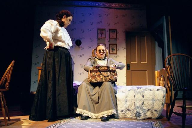 Annie Sullivan and Helen Keller