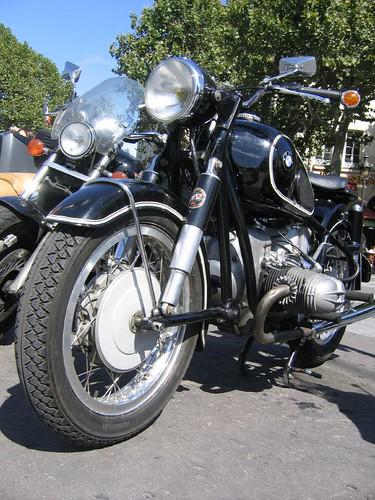 Vintage R69S BMW Motorcycle