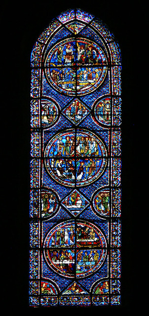 Mary Magdalene - Chartres Cathedral | Professor Moriarty