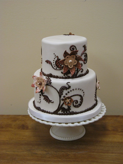 Two Tier Cake Flickr Photo Sharing
