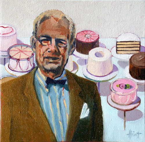Cake Art By Liza Wv : Wayne Thiebaud with Cakes Flickr - Photo Sharing!