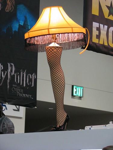 Sexy leg lamp