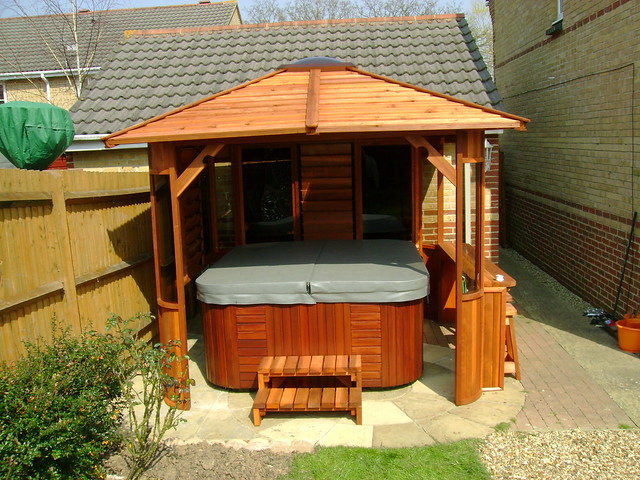Gazebos Over Hot Tubs Style