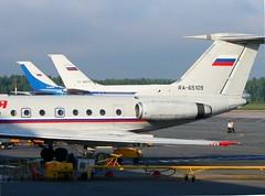 Russia State Transport Company (Rossiya - Russian Airlines), Tupolev Tu-134A-3, RA-65109 (cn 60339)