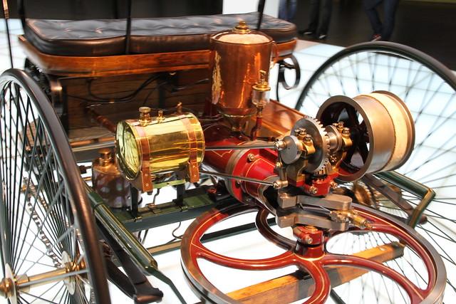 Bertha Benz Memorial Route - wieviel Benzin hat das erste Auto.