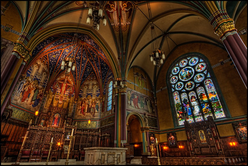 city urban usa church utah us unitedstates iglesia saltlakecity hdr 2010 noiseware churchinterior photomatix cathedralofthemadeleine churchofthemadeleine imagenomic freakydeail