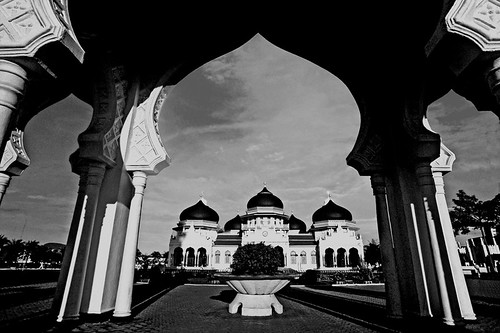 Mosque of Banda Aceh, Indonesia