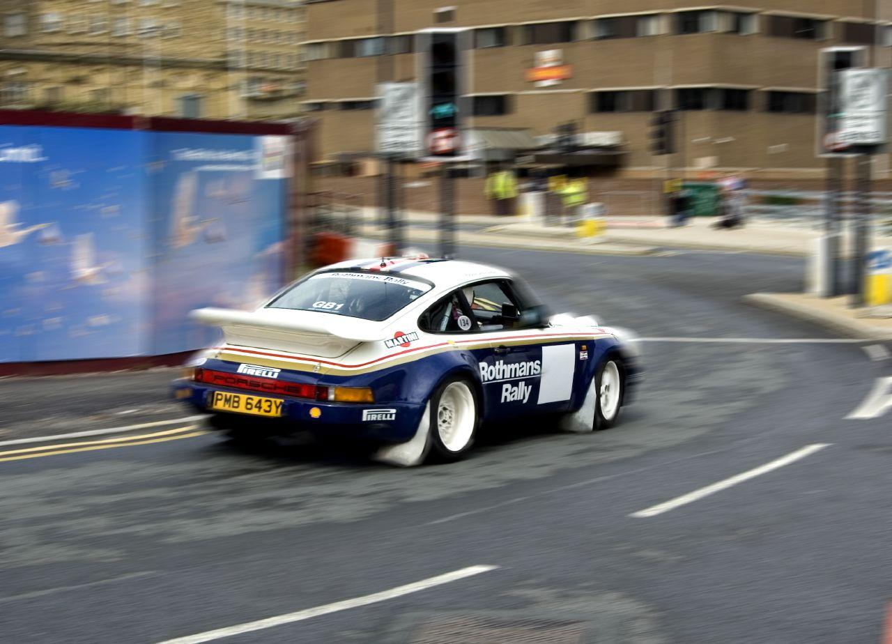 Illegal street racing