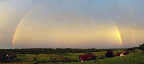 panorama rainbow panoramic regenbogen