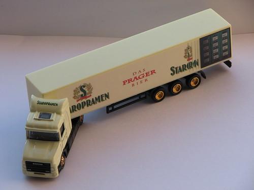 Staropramen Sattelschlepper-Minitruck
