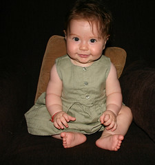 Sitting baby