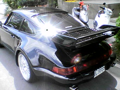executive car(0.0), convertible(0.0), supercar(0.0), automobile(1.0), automotive exterior(1.0), wheel(1.0), vehicle(1.0), performance car(1.0), automotive design(1.0), porsche(1.0), porsche 911 classic(1.0), porsche 930(1.0), bumper(1.0), land vehicle(1.0), luxury vehicle(1.0), coupã©(1.0), sports car(1.0),
