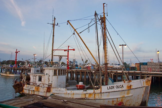 Old trawler at back road in freeport maine flickr for Freeport fishing boats