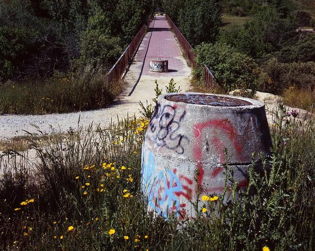 Alcantarilla y puente