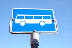 Buss-skilt