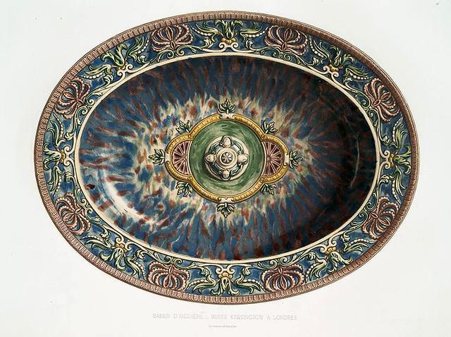 004-Cuenco de aguamanil-Museo Kensington de Londres-Monographie de l'oeuvre de Bernard Palissy…1862