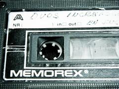 compact cassette, label,