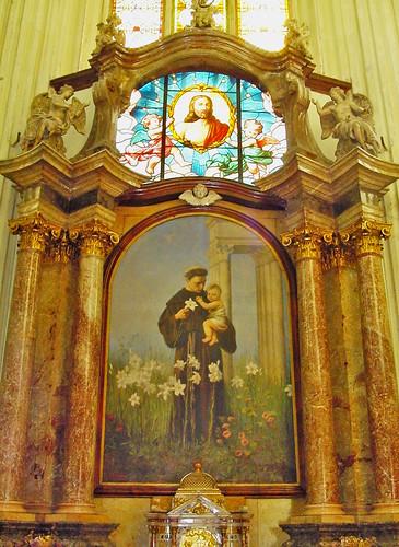 St Anthony's Altar in Vienna
