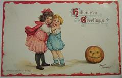 Vintage Halloween Postcard    Sam Gabriel
