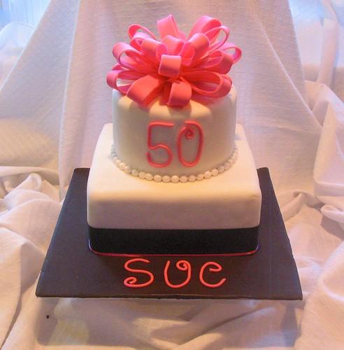 Whimsical Bakery: 50th Birthday Cake