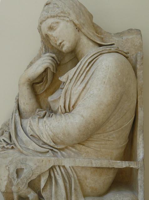 Analysis of Kallimachos' Grave Stele of Hegeso