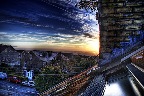 sheffield - england, hidden sunrise