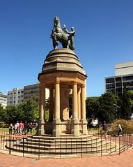 Delville Wood monument, Cape Town