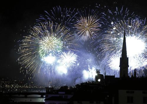 Zürich Neujahr | Zurich New Years Eve Fireworks