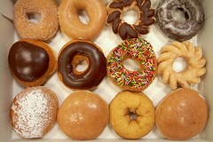 doughnut, baking, baked goods, food, dessert, cuisine, snack food,